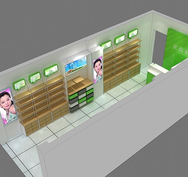 南充化妆品展柜订制